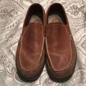 Men's Rockport Loafers Sz 10 Camel color